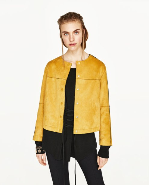 yello jacket