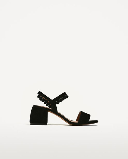 ZARA- Pom Pom Sandal
