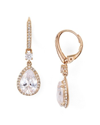 Nadri Pear Drop Earrings