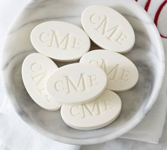 Pottery Barn Monogrammed Soap