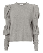 grey ruffle sweater- intermix online
