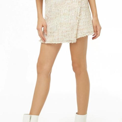 f21 tweed skirt